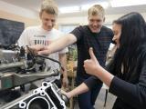 Automobiļu motoru konstrukcijas nodarbība
