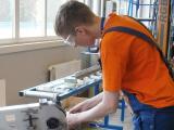 """AMO Plant"", students Artūrs Bogdanovs praksē"