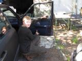 """""""AL auto"""", students Oļegs Djatlovs praksē"""